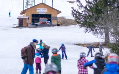 En camp de ski